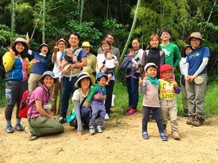 静岡市森のようちえん体験移住ツアーを開催しました!の画像