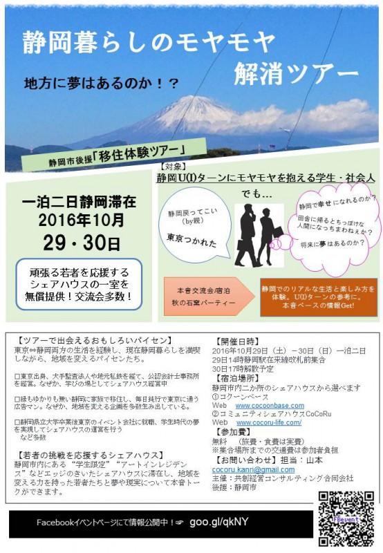 【参加者募集】静岡暮らしのモヤモヤ解消ツアー★の画像
