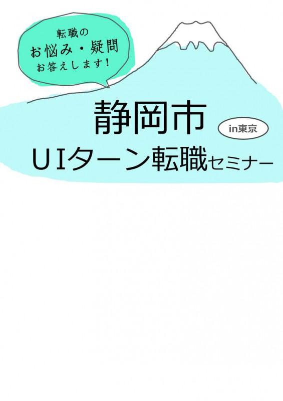 【7/8(土)・東京】静岡市U・Iターン転職セミナーを開催します!の画像